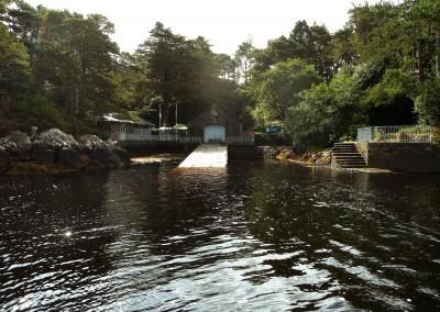 Garinish-Island-Schiffsanlegestelle